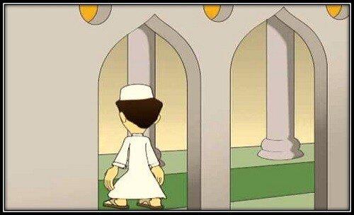 477. Vhod v mechet ili vyhod iz nego vovremja azana i ikamata - 477. Вход в мечеть или выход из него, вовремя азана и икъамата