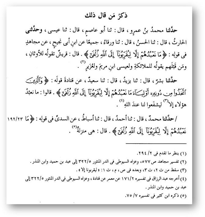 Tabari o mushrkiah - 552. Барзах, могилы, их обитатели и взывание к ним